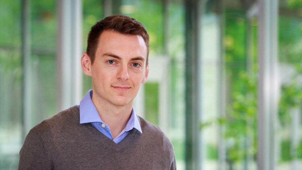 Postdoc Kevin Johnson named American Cancer Society Fellow