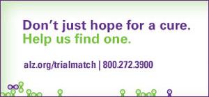 Trial Match Alzheimer's