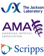 JAX, AMA and Scripps logos