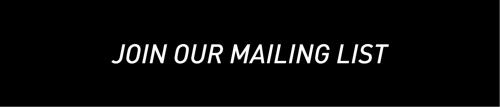 mailing list signup button