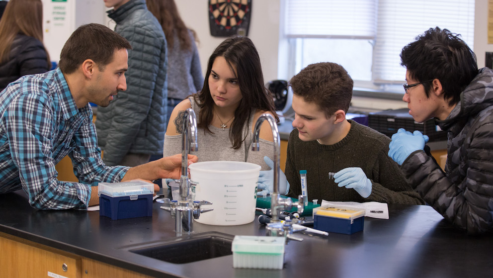 Teaching genomics in the high school classroom