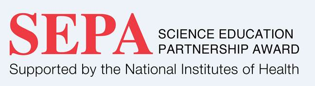 logo for NIH Science Education Partnership Award (SEPA)