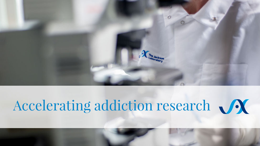 Addiction research Elissa Chesler Vivek Kumar
