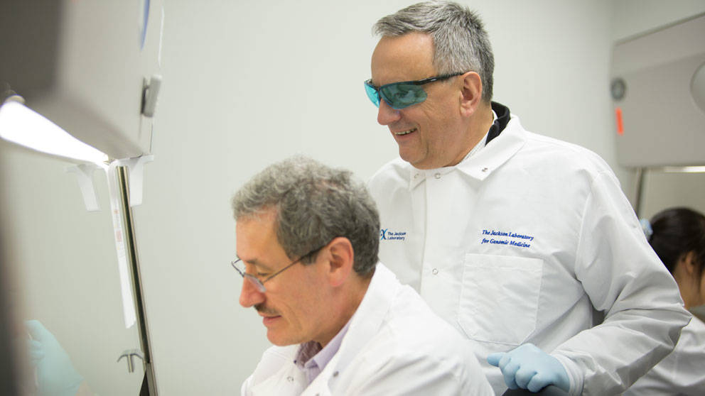 Jacques Banchereau at The Jackson Laboratory
