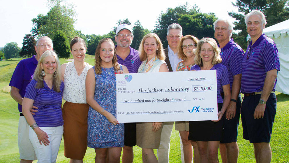 Gift of $248,000 launches Petit Family Foundation Women in Genomics Initiative at The Jackson Laboratory
