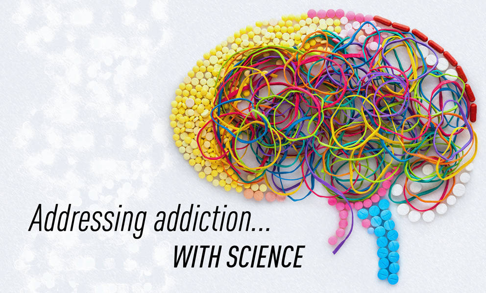 Vivek Kumar is addressing addiction with science