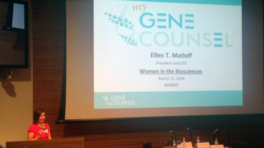 March a call to action women in the biosciences