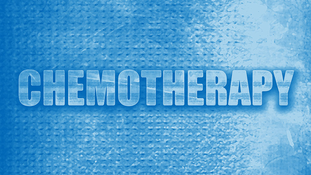 Chemotherapy blue rectangle