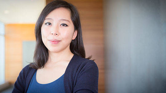 Julia Oh studies the microbiome and skin cancer at The Jackson Laboratory