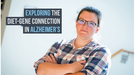 July alzheimers disease diet gene connection