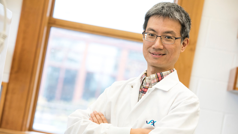 Lucas Chang, cancer research at The Jackson Laboratory