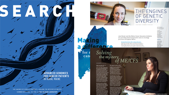 Search Magazine, 12-2, MECFS, MCGI, Genetic diversity